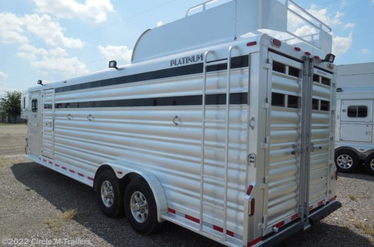 "4 Horse Trailer - 2020 Platinum Coach 26' Stock Combo 7'6"" wide..THE PERFECT TRAILER available New in Kaufman, TX"