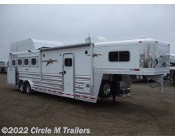 "#7841047 - 2018 Platinum Coach Outlaw 4 Horse SIDE LOAD 10'4"" SW Outlaw & ONAN"