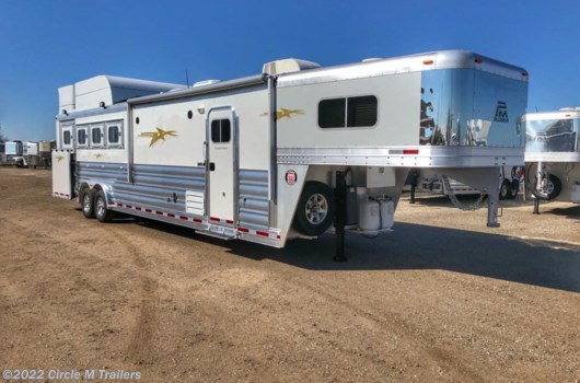 "4 Horse Trailer - 2019 Platinum Coach Outlaw 4 Horse 12' 8"" OUTLAW SIDE LOAD available New in Kaufman, TX"