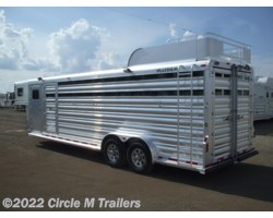 "#445Sb3 - 2018 Platinum Coach 26' Stock Combo 7'6"" wide..THE PERFECT TRAILER"