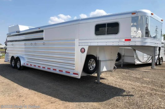 "6 Horse Trailer - 2020 Platinum Coach 26' Stock Combo 7'6"" wide..THE PERFECT TRAILER available New in Kaufman, TX"