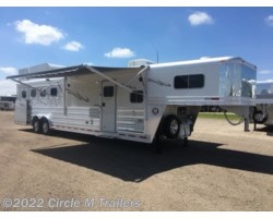 "#514128SS3 - 2018 Platinum Coach Outlaw 4 Horse 12' 8"" SW Outlaw SIDE LOAD SLIDE OUT"