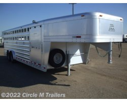 #9824CC1 - 2018 Platinum Coach 24' Club Calf show trailer