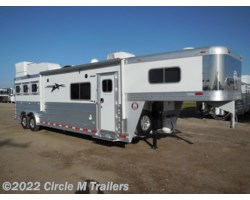 "#8583 - 2017 Platinum Coach Outlaw 3 horse 13' 4"" Short wall 50 AMP Onan 7.0"