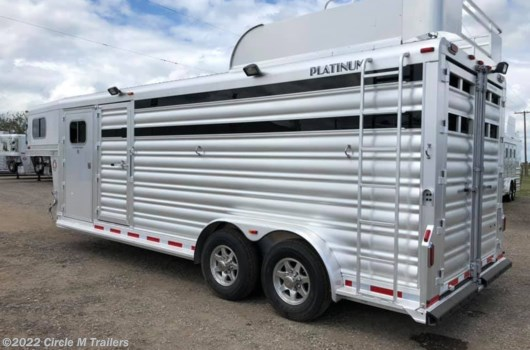 "4 Horse Trailer - 2020 Platinum Coach 4 Horse 7'6"" wide Combo Sport, LOADED!! available New in Kaufman, TX"