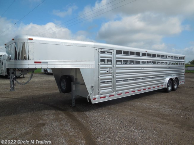2019 Platinum Coach 28' Stock Trailer 8 wide with 2-8,000# axles