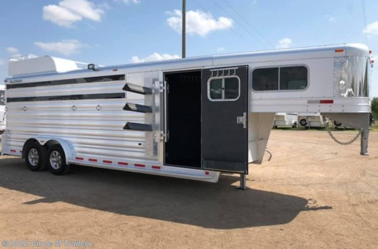 "6 Horse Trailer - 2022 Platinum Coach 22' Stock Combo 7'6"" wide..SWING OUT SADDLE RACK! available New in Kaufman, TX"