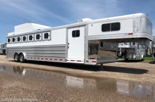7 Horse Trailer - 2017 Platinum Coach 7 Horse w/ MANGERS 8' wide, MEGA TACK!! available Used in Kaufman, TX