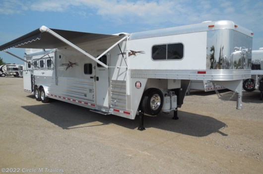 "4 Horse Trailer - 2020 Platinum Coach Outlaw 4 Horse 13'2"" SW Outlaw SIDE LOAD SLIDE OUT available New in Kaufman, TX"
