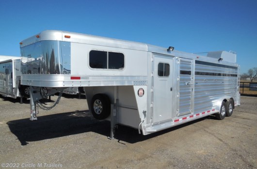6 Head Livestock Trailer - 2022 Platinum Coach 24' Perfect Ranch Hand Trailer available New in Kaufman, TX