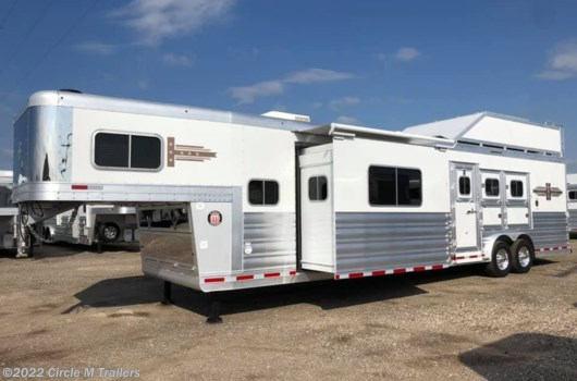 3 Horse Trailer - 2020 Platinum Coach Outlaw NFR 2020!! Couch/Bar/Bench Smart TV's!! available New in Kaufman, TX
