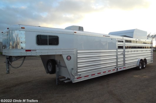 4 Horse Trailer - 2020 Platinum Coach 34' haul 4, 5, 6, 7...BOX STALLS!! available New in Kaufman, TX