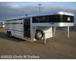 #01S242 - 2018 Platinum Coach 24' Show Cattle Stock Special 8' WIDE