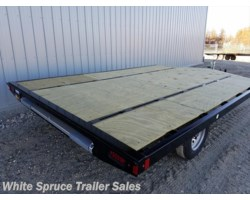 #861214ST-00707 - 2017 Midsota 8.5' X 12' STEEL SNOWMACHINE TRAILER