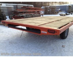 #861214ST-00709 - 2017 Midsota 8.5' X 12' STEEL SNOWMACHINE TRAILER