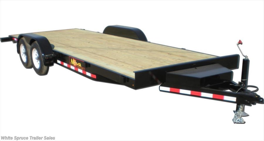 "2017 Midsota 82"" x 20' Car Hauler Trailer 10K"