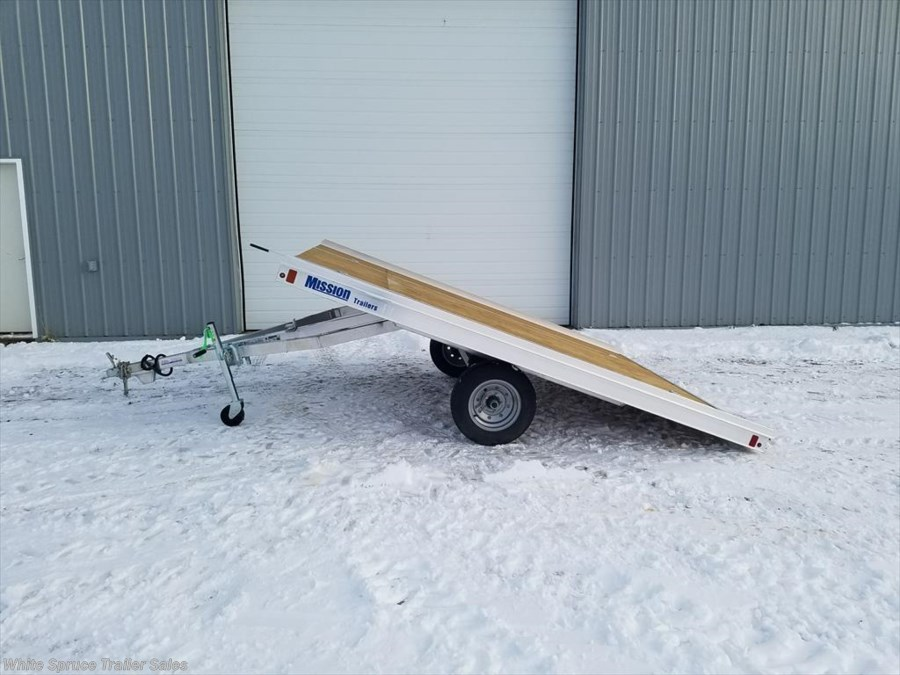 "2018 Mission Trailers 8'6"" X 10' TILT ALL ALUMINUM"