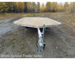 "#MFS14LV-15464 - 2018 Mission Trailers 8'6"" X 14' ALL ALUMINUM SPLIT RAMPS"