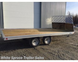 "#MFS16LV-15467 - 2018 Mission Trailers 8'6"" X 16' ALL ALUMINUM SPLIT RAMPS"