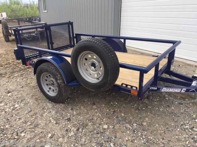 2017 Diamond C 5' X 8' UTILITY SINGLE 3500# AXLE