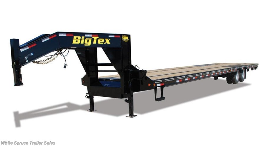 2018 Big Tex 33' GOOSENECK WITH MEGA RAMPS, 22K GVWR