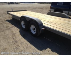 "#CT8220-00619 - 2018 Midsota 82"" x 20' Car Hauler Trailer 10K"
