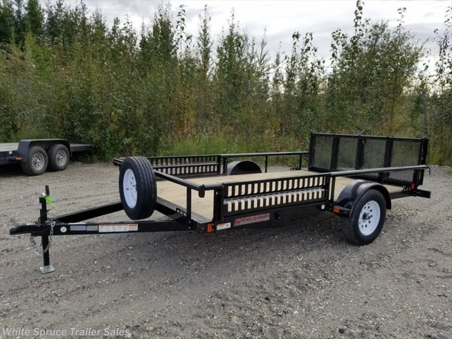 "2018 Midsota 83"" X 12' UTILITY WITH SIDE RAIL RAMPS"