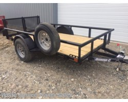 #2PSAL10-60-95813 - 2018 Diamond C 5' X 10' UTILITY SINGLE 3500# AXLE