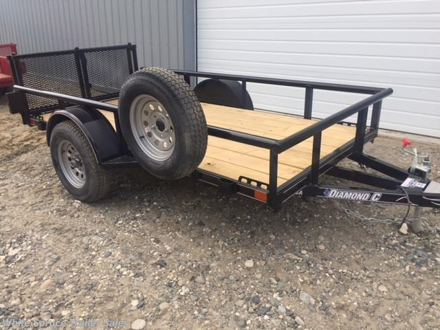 2018 Diamond C 5' X 10' UTILITY SINGLE 3500# AXLE
