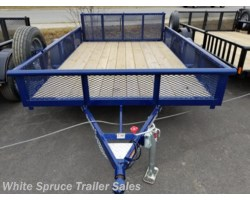 "#2PSAL10-77-E-95914 - 2018 Diamond C 6'5"" X 10' UTILITY WITH MESH WALLS"