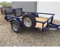 #2PSAL8-95811 - 2018 Diamond C 5' X 8' UTILITY SINGLE 3500# AXLE