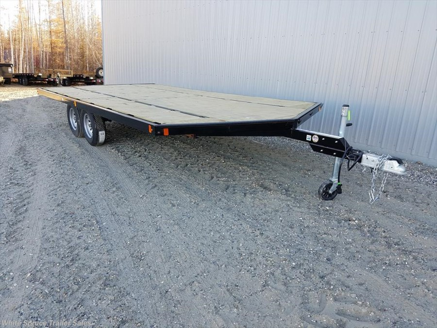 2018 Midsota 8.5' x 16' Steel Snowmachine Trailer 7K