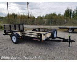 "#UT8312Q-01327 - 2018 Midsota 83"" X 12' UTILITY WITH SIDE RAIL RAMPS"