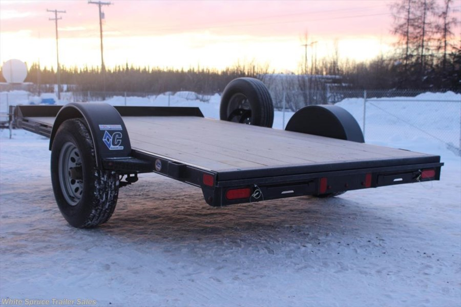 "2018 Diamond C 6'5"" X 10' UTV TRAILER W/ 5200# AXLE"
