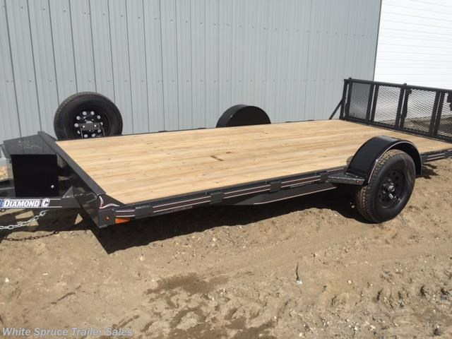 "2018 Diamond C 6'5"" X 10' UTV TRAILER W/ 3500# AXLE"