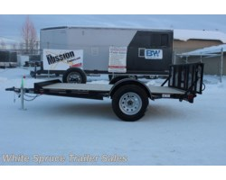 "#33UTV12-96709 - 2018 Diamond C 6'5"" X 12' UTV TRAILER W/ 3500# AXLE"