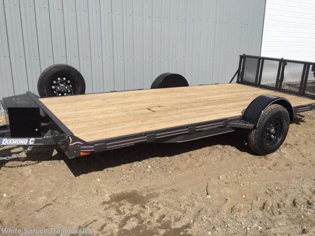 "2018 Diamond C 6'5"" X 12' UTV TRAILER W/ 3500# AXLE"
