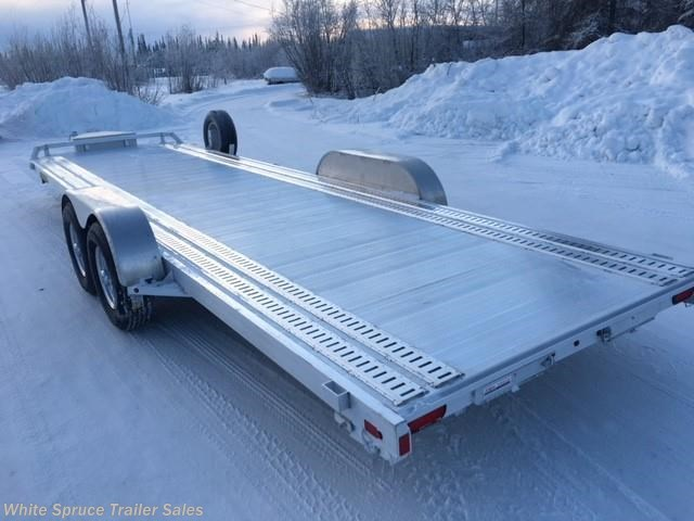 "2019 Aluma 82"" X 24' ALL ALUMINUM 10K CAR HAULER"