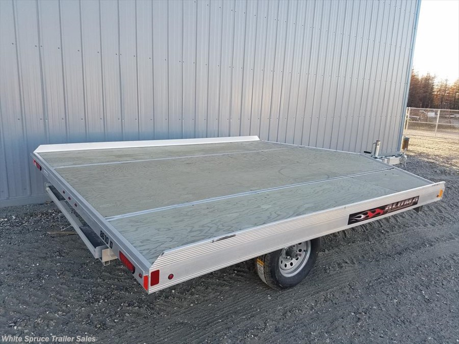 2019 Aluma 8.5' X 10' ALUMINUM SNOW/ATV TRAILER