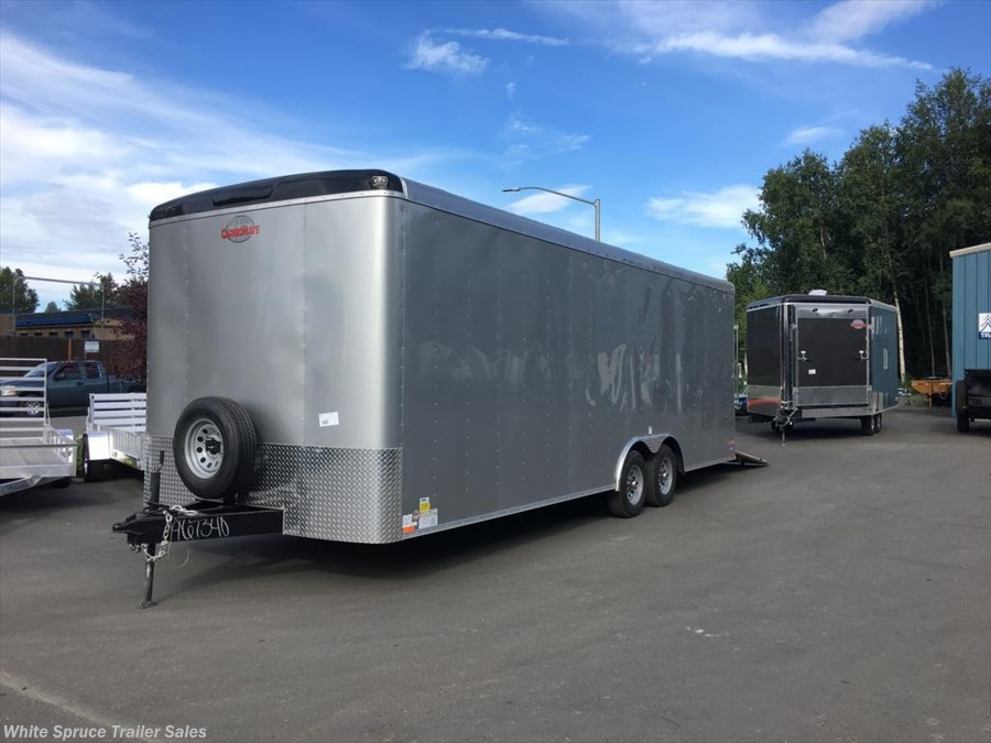 "2018 Cargo Mate  8.5' X 26' X 7'7"" ENCLOSED CAR HAULER PKG"