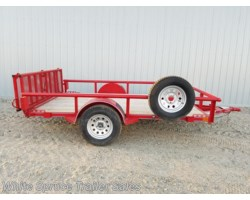 "#2PSAL10-77-97326 - 2018 Diamond C 6'5"" X 10' UTILITY SINGLE 3500# AXLE"