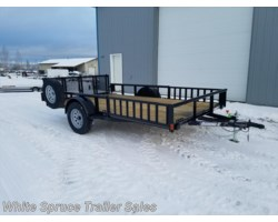 "#2PSAL12Q-97321 - 2018 Diamond C 83"" X 12' UTILITY W/ SIDE LOADING RAMPS"