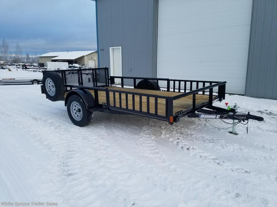 "2018 Diamond C 83"" X 12' UTILITY W/ SIDE LOADING RAMPS"