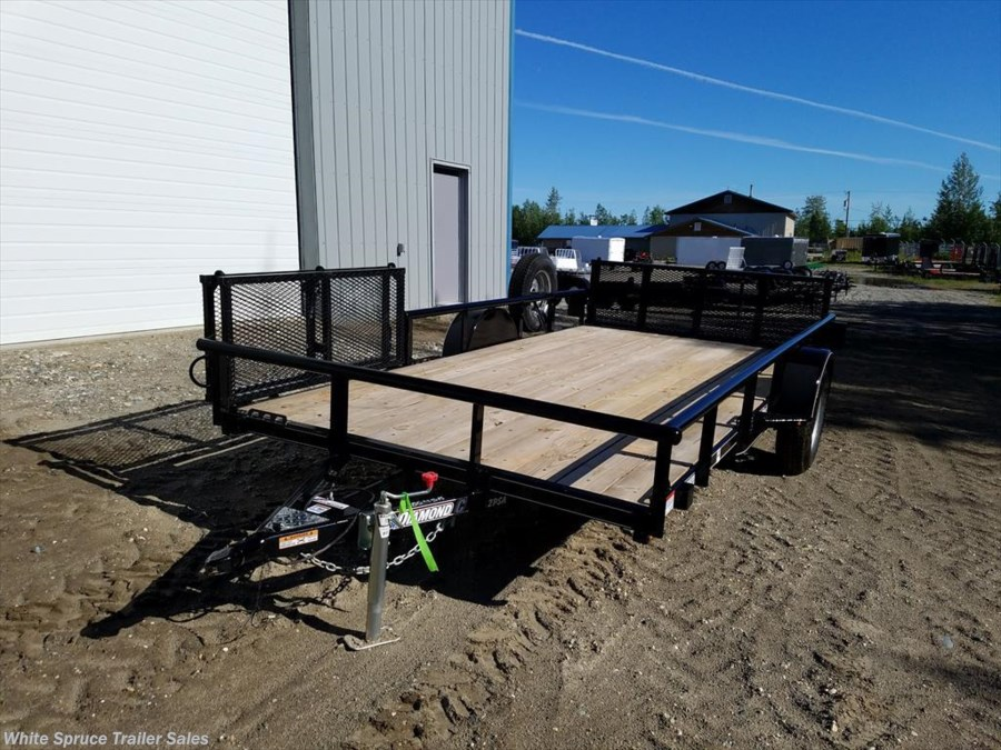 "2018 Diamond C 83"" X 14' UTILITY W/ BI-FOLD SIDE GATE"