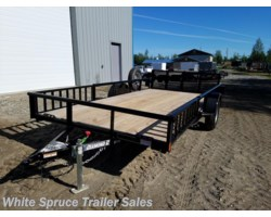 "#2PSAL14Q-97362 - 2018 Diamond C 83"" X 14' UTILITY W/ SIDE LOADING RAMPS"
