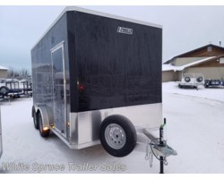 "#EZEC714-17612 - 2018 Mission Trailers 7.5' X 14' X 5'10"" ALL ALUMINUM ENCLOSED"