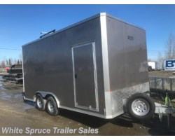 #EZEC816TA2-17652 - 2018 Mission Trailers 8' X 16' X 7' ALL ALUMINUM ENCLOSED 7K