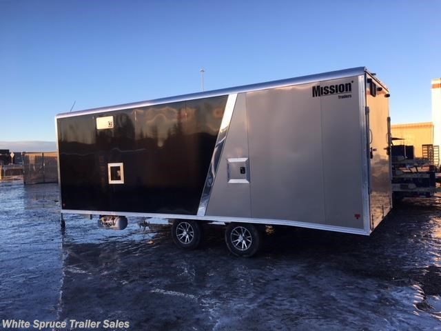 2018 Mission Trailers 8.5' X 27' LOADED TOY HAULER