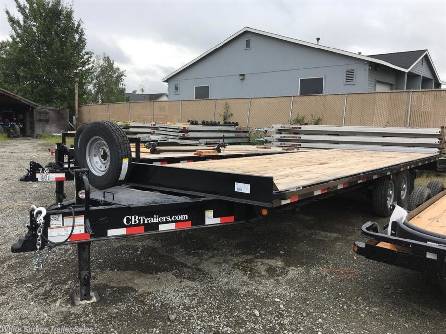 2017 C&B 8.5' X 24' EQUIPMENT, 14K WITH PINTLE