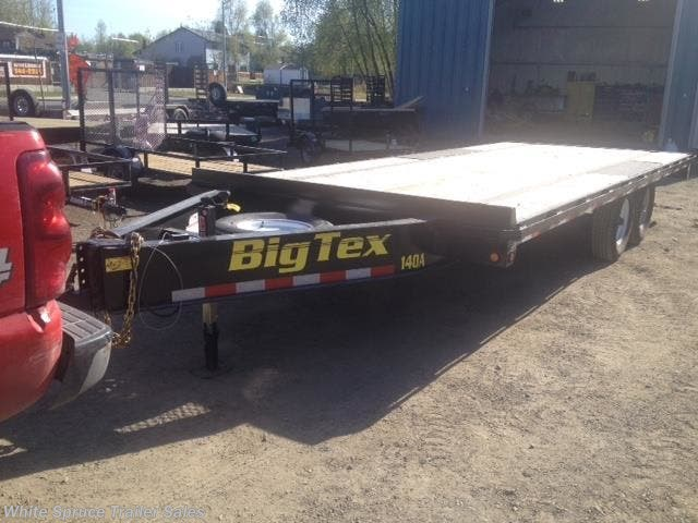 2018 Big Tex 8.5' X 20' DECKOVER EQUIPMENT 14K